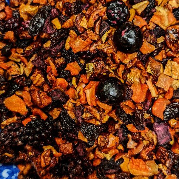 Früchtetee Schwarze Johannisbeere    mild