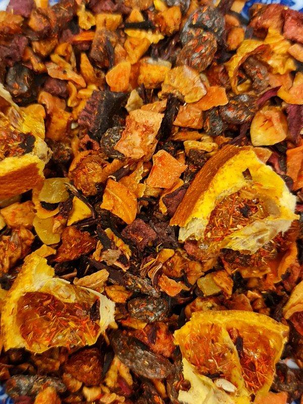 Früchtetee Mandarinenkuss  mild  natürlich